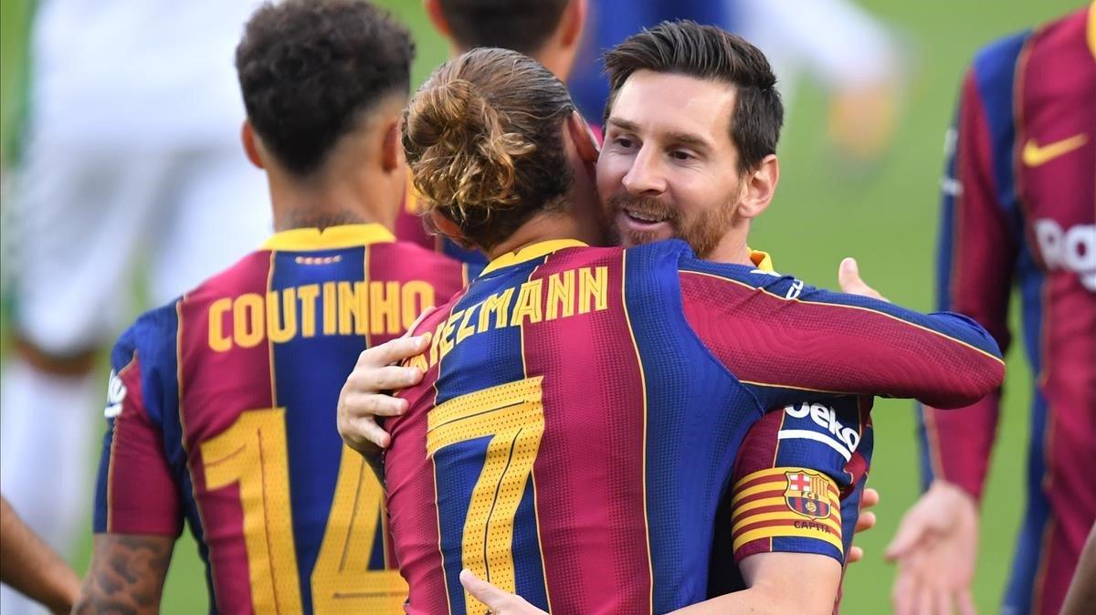 El Barça guanya el Gamper i Koeman ensenya les seves cartes
