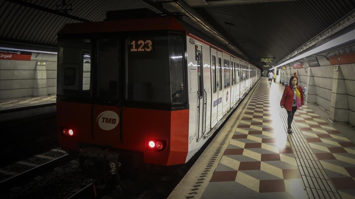 Estación de metro de la línea roja