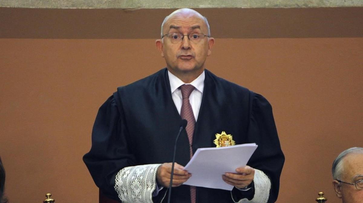 El magistrado Miguel Ángel Gimeno, nuevo director de la Oficina Antifrau de Catalunya.