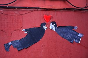 Muestra de 'street art' en Madrid