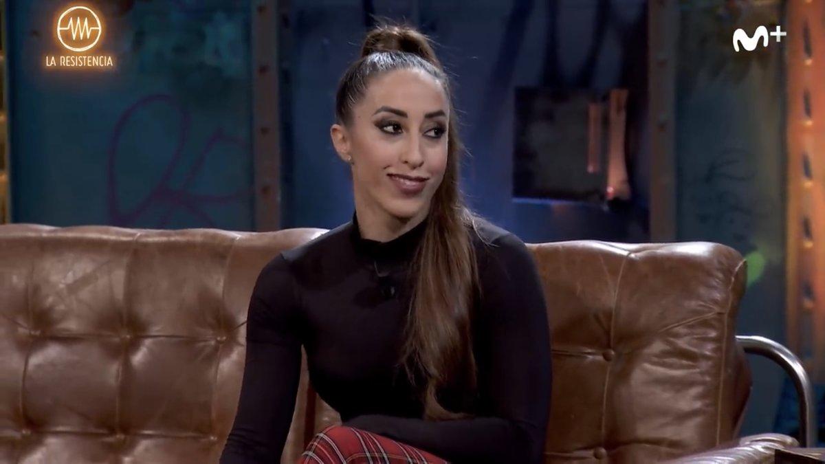 Nadina de Armas, campeona de España de Pole dance, en 'La resistencia'.