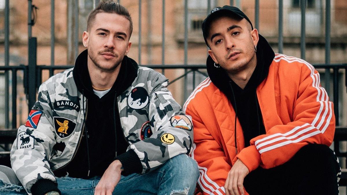 Gonzalo Cidre (Natos) y Fernando Hisado (Waor), dominante dúo del rap español