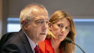 Pere Navarro y Blanca Sorigué, responsables de la organización del SIL.