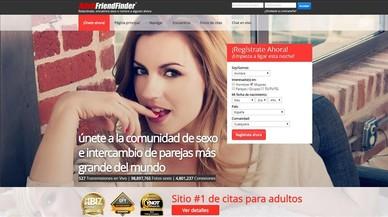 Una filtración desnuda 412 millones de cuentas de usuarios de la web de sexo Adult Friend Finder