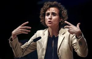 La portavoz del PP en el Congreso y exministra de Sanidad, Dolors Montserrat.
