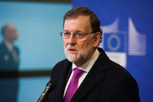 El presidente del Gobierno Mariano Rajoy en una reciente conferencia de prensa en Bruselas.