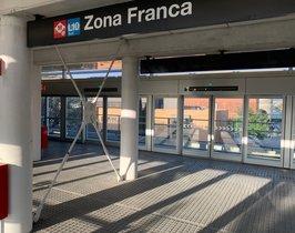 Entra en servei l'estació de Zona Franca de l'L10 Sud de metro