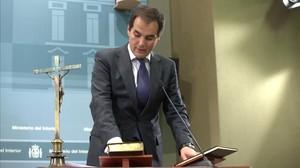 El secretario de Estado de Interior José Antonio Nieto.