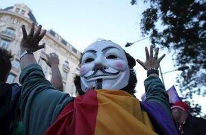 Una desena de manifestants de 'Envolta el Congrés' s'enfronten a sis anys de presó