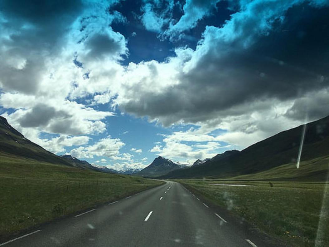 Imagen de uno de los momentos del viaje por Islandia.