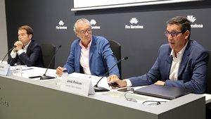 Rueda de prensa de la presentación de la edición del 2018del Salón Naútico de Barcelona.