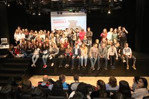 Participants a la Mostra de Cinema de Sant Boi.