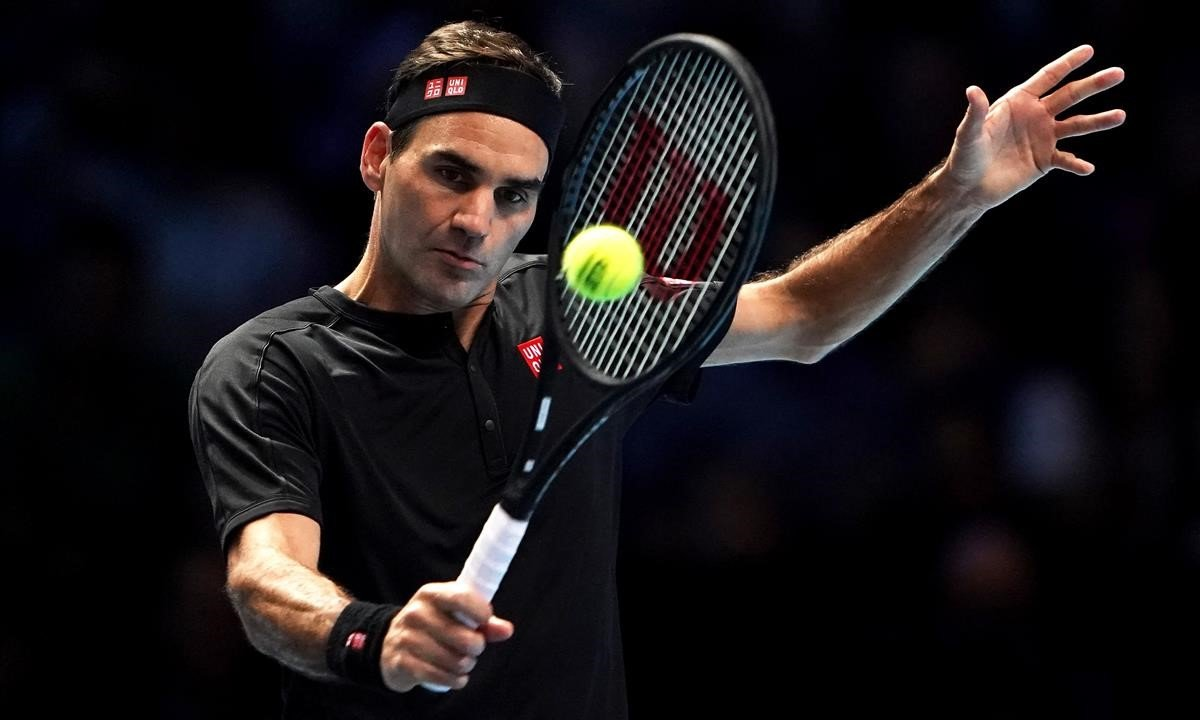 Roger Federer, en Londres, en el 2019.