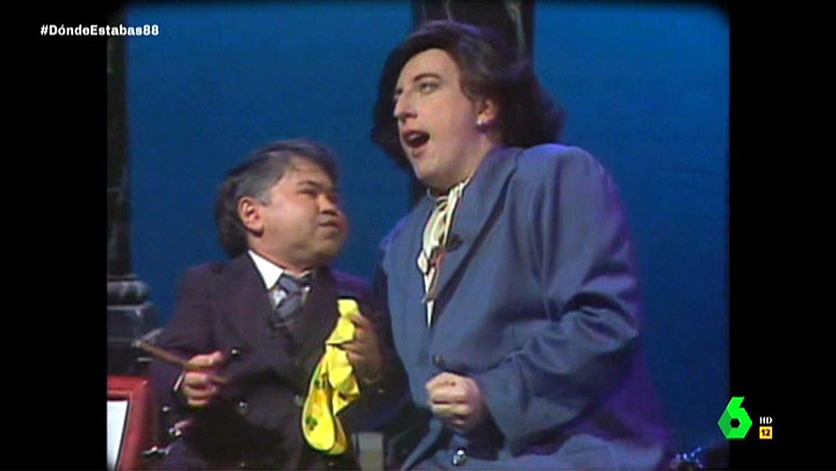 Parodia de Felipe González en TVE (1988).