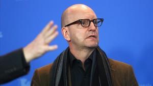 Steven Soderbergh, en la presentación de Unsane, en Berlín