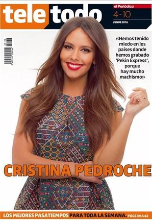Portada del suplemento Teletodo protagonizada por Cristina Pedroche.