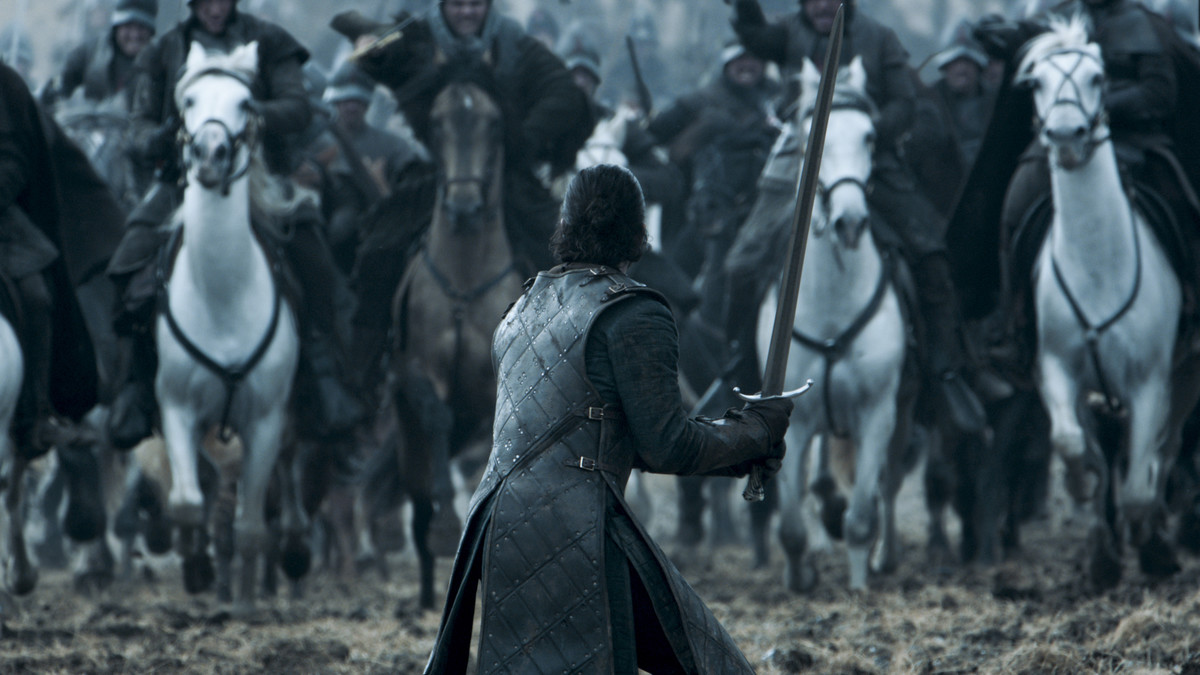 Impactante imagen de una de las series impescindibles para este verano: Juego de tronos.