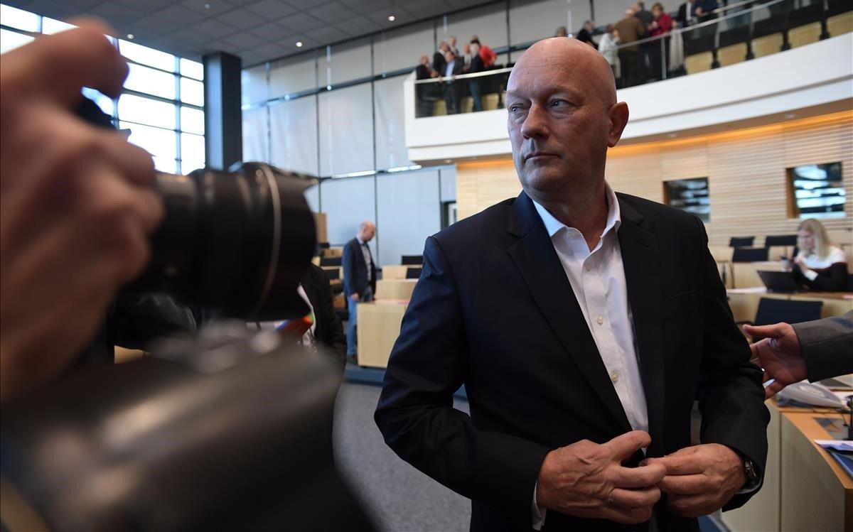 Thomas Kemmerich, nuevo presidente de Turingia.