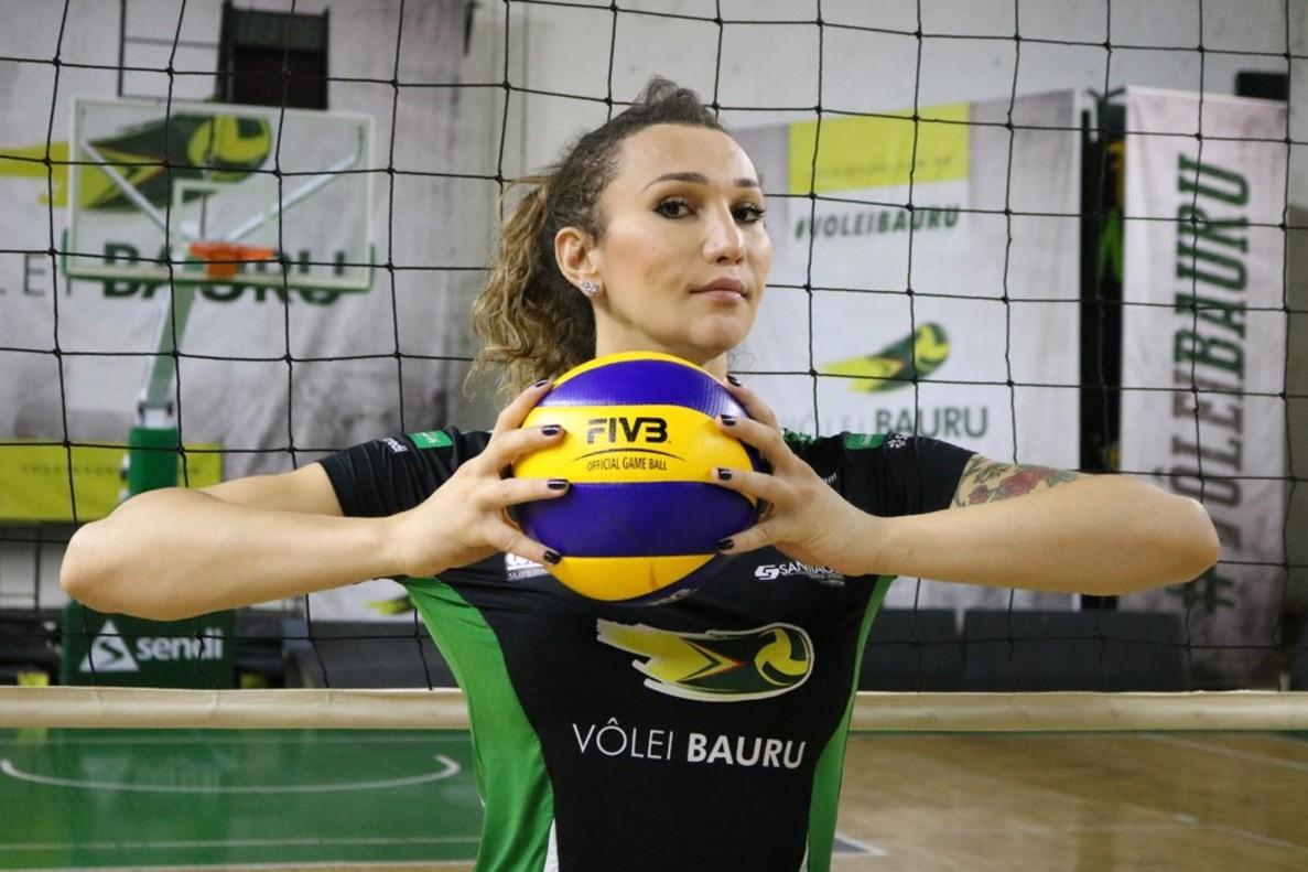 Tifanny, jugadora brasileña de voleybol.
