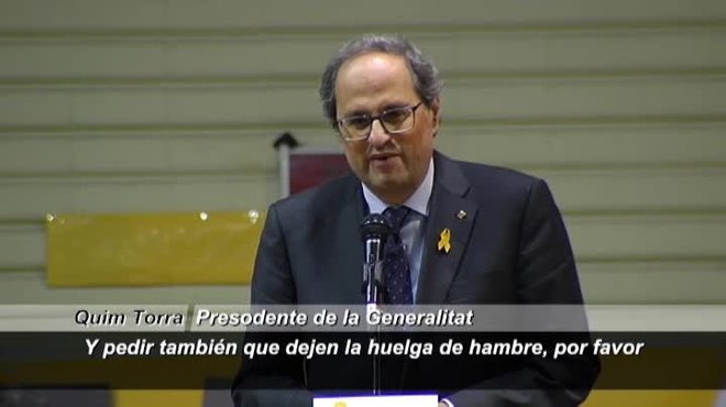 Se une así a la petición de Puigdemont y el defensor del pueblo catalán.