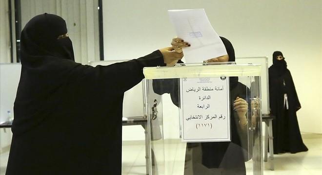 Voto histórico de las mujeres saudís