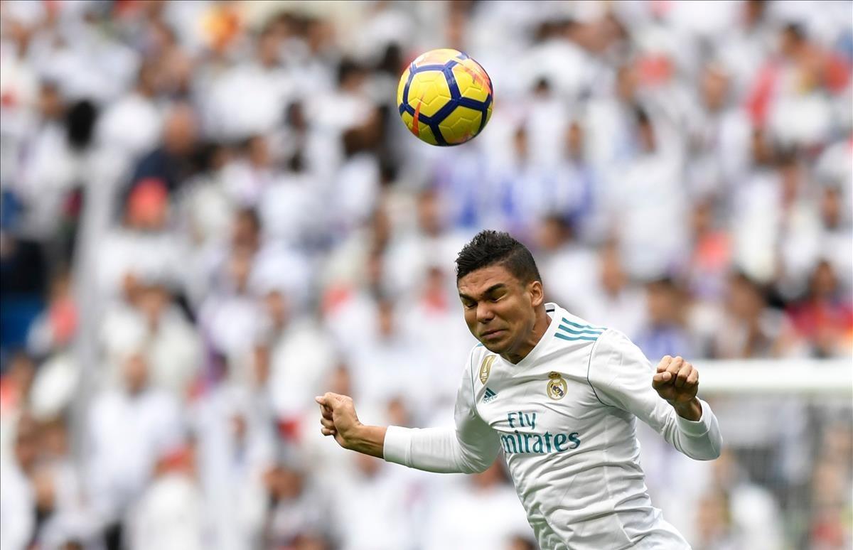 El centrocampista del Real Madrid Casemiro, una de las víctimas de los robos.