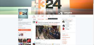 Imagen de la cuenta de Twitter del portal de la CCMA 324.cat.