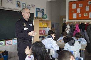 La policia local de Parets reprèn les classes de mobilitat segura a les escoles aquest gener