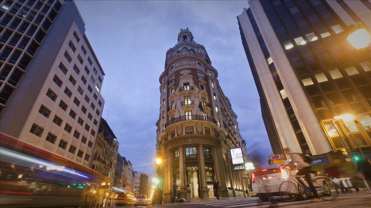 Sede del Banco de Valencia.