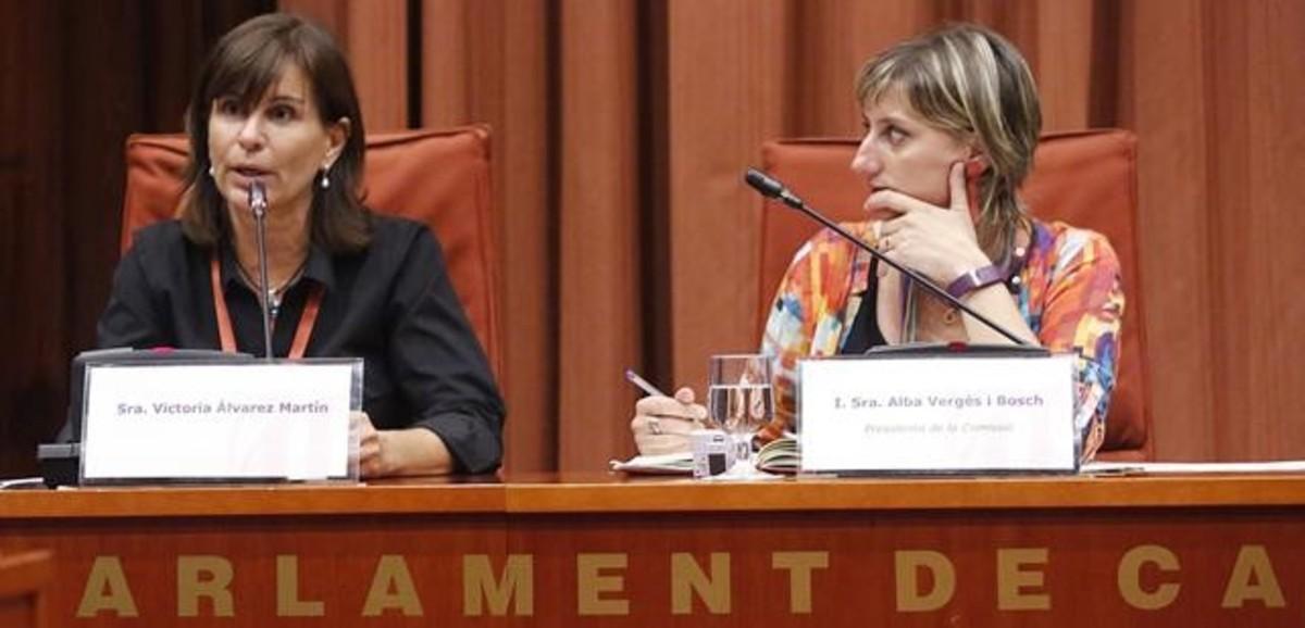 Javier de la Rosa calla y Victoria Álvarez defiende la 'operación Cataluña'