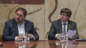 Puigdemont-Junqueras, l'altre judici del procés
