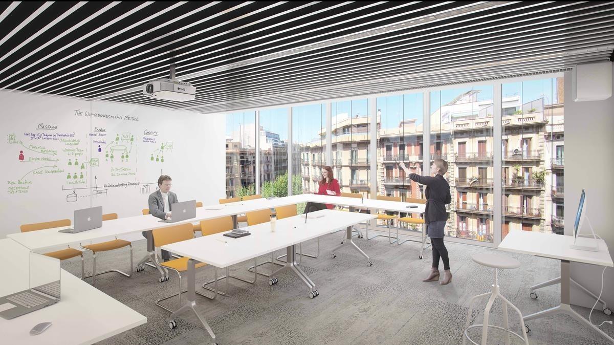 Aspecto de las nuevas instalaciones de Eada en Barcelona.