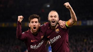 El gol de Iniesta y Messi en la aldea global