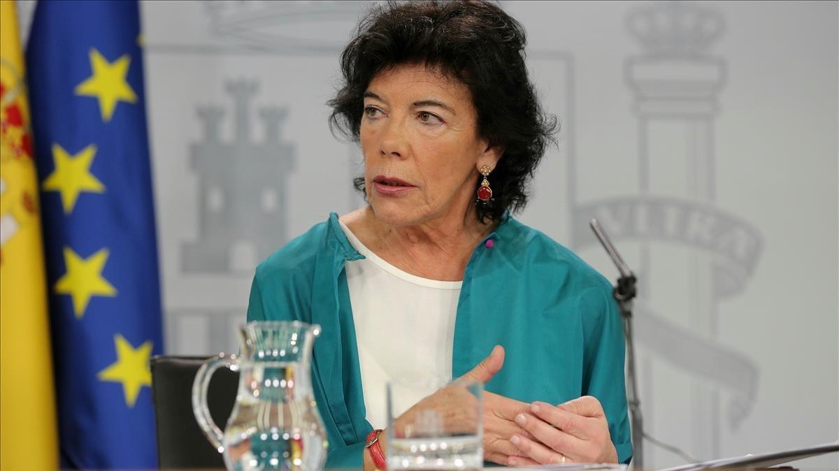'La manada': el Govern espanyol estudiarà personar-se en els delictes sexuals en defensa de la víctima