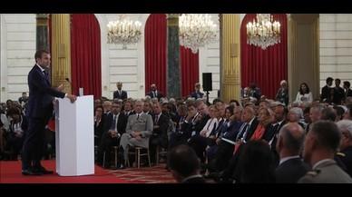 Macron vol reforçar la seguretat europea davant l'unilateralisme de Trump
