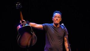 Imagen del especáculo 'Bruce Springsteen on Broadway'.