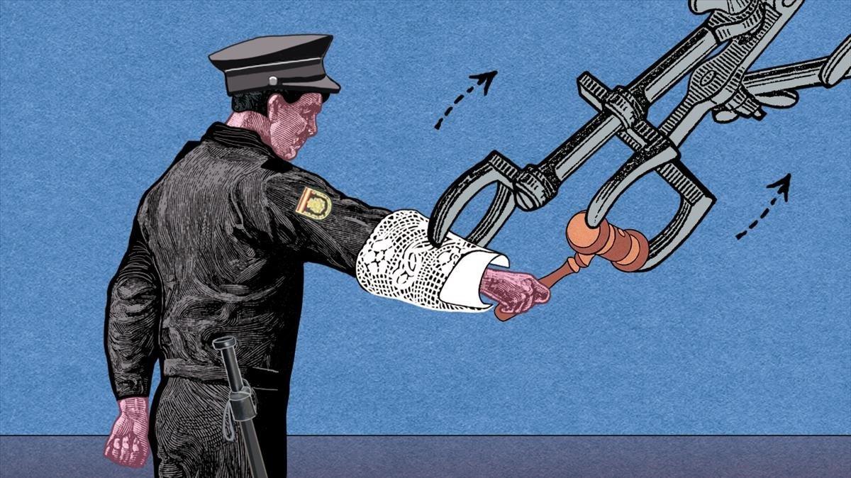 Els policies no són jutges