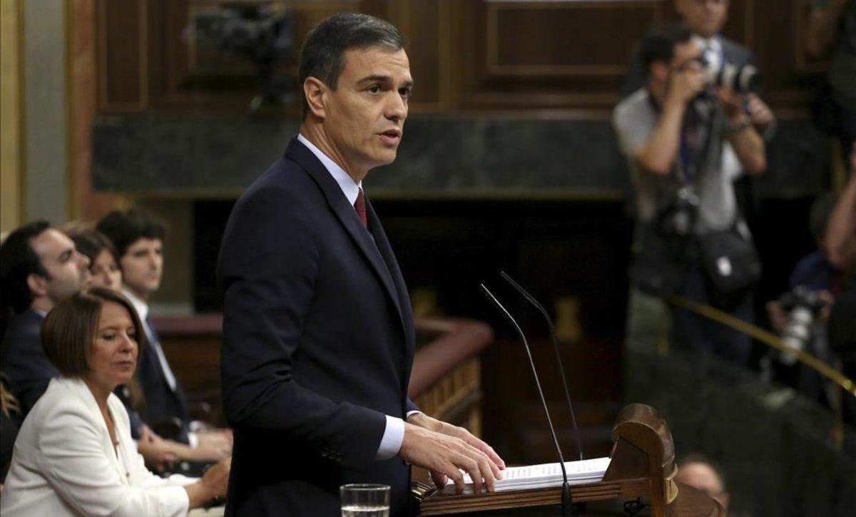 Sánchez planteja sis grans reptes per a la seva acció de Govern