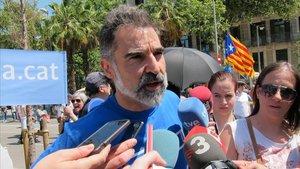 Cuixart veu necessari parlar amb el PSOE, però Sánchez «encara no ha demostrat res»