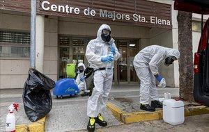 Un informe matemàtic dona per passat el pic de contagis i situa el de les ucis el 9 d'abril