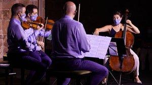 Un Schubert greu i impecable obre el festival de Vilabertran