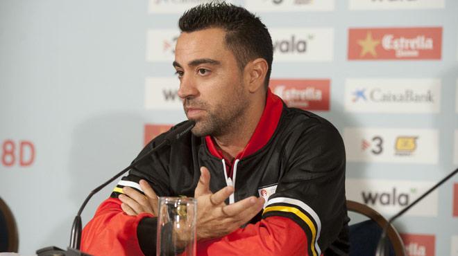 Xavi Hernández: Sempre que puc vinc, i ho seguiré fent fins que les cames maguantin