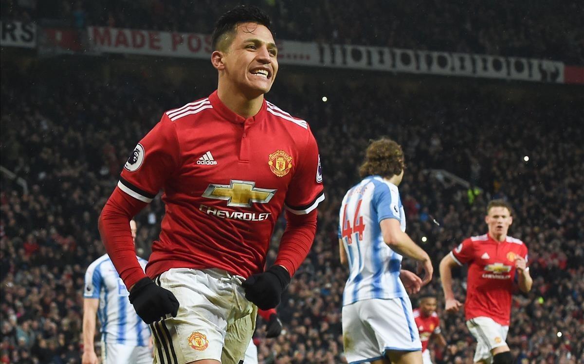 lmendiola41904717 topshot manchester united s chilean striker alexis sanchez180207130926