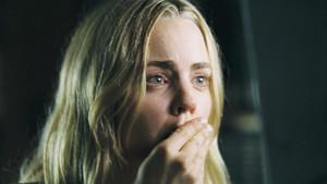 La actriz Melissa George, en una escena de la película La morada del miedo.