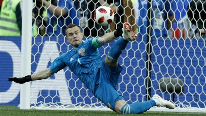 España - Rusia | Estadísticas de De Gea en el Mundial de 2018