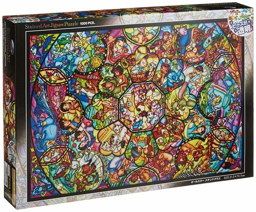 Puzzle vidriera Disney
