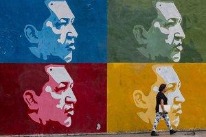 Maduro estimó que la película sobre la vida de Chávez podría estrenarse en un o dos años.