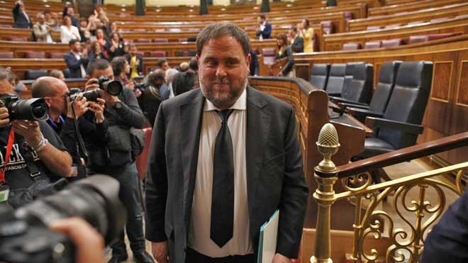 El Parlament Europeu reconeix Junqueras malgrat l'acord de la Junta Electoral