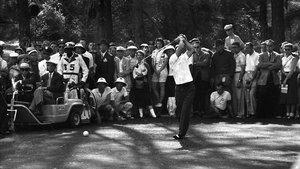 Arnold Palmer, durante la disputa del Masters de Augusta de 1958.