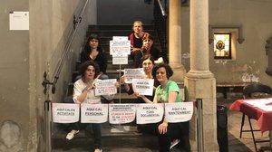 Les biblioteques públiques de Barcelona tornen a protestar avui per les seves condicions laborals